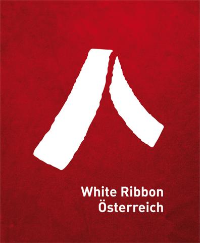 Logo White Ribbon Österreich