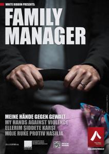 Plakat: Family Manager | White Ribbon Österreich