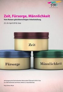 Cover Broschüre Zeit, Fürsorge, Männlichkeit